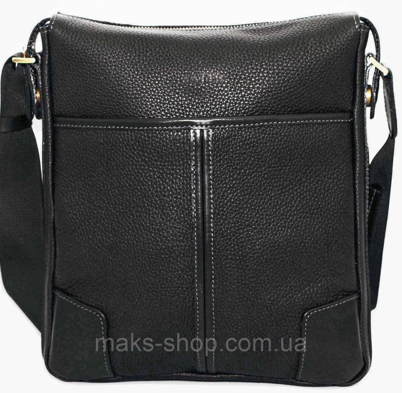 a3f120e72bd0 Современная мужская сумка выполнена из натуральной кожи VATTO Mk10 F8Kaz1 -  Maks Shop- надежный и