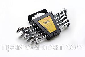 Набор ключей комбинированных с трещоткой CrV (10,12,13,14,17) 5шт