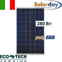 SolarDay PX60 280W (5BB) солнечная панель (батарея, фотоэлектрический модуль), фото 1