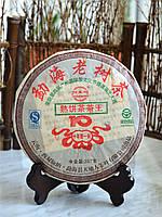 """Китайский Чай Пуэр """"Мэнхай Лао Шу"""" 2008 года 357 граммов"""