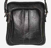 Комфортная мужская сумка через плечо из натуральной кожи VATTO