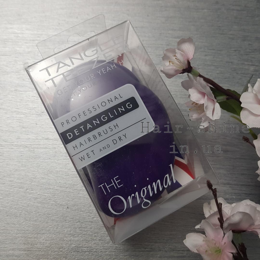 Расческа для волос -Tangle Teezer  Original Purple Crush(Оригинал )