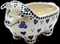 Керамическая форма Свинка для соусов и дипов Heart-to-heart, фото 1