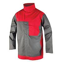 Куртка для сварщика METTHEW 01 красно-серая