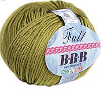 Пряжа BBB Full 9963 - оливковый
