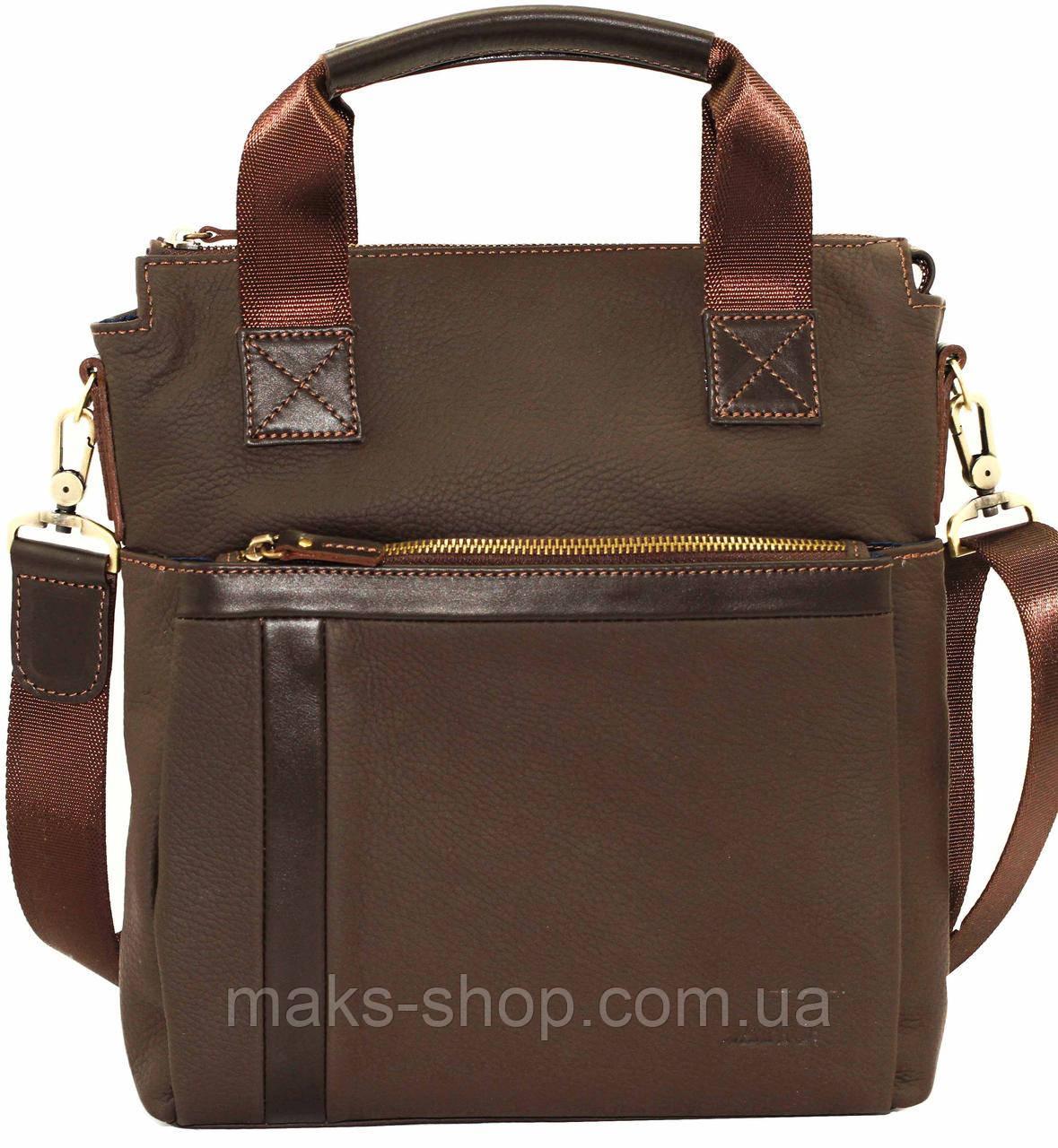 e0a98a40e314 Функциональная мужская сумка с ручками и плечевым ремнем VATTO Mk41.2  F7Kаz400 - Maks Shop