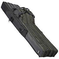 Чехол DAM Multi-Compartment Rod Bag для 3 удилищ с катушками 130x31х29см