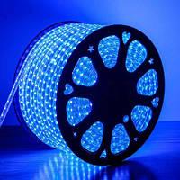 Светодиодная лента AVATON 2835-120 220В IP68 синий, герметичная, 1м
