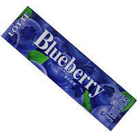 Жевательная резинка Lotte Blueberry, фото 1