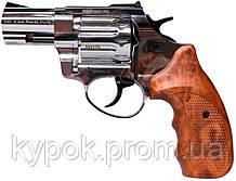 """Револьвер Флобера ATAK Arms Stalker 2.5"""" (барабан: сталь / никель / пластик под дерево)"""