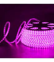Светодиодная лента AVATON 2835-120 220В IP68 розовый, герметичная, 1м
