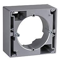 Коробка для внешнего монтажа алюминий Schneider Sedna