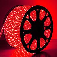Светодиодная лента AVATON 2835-120 220В IP68 красный, герметичная, 1м