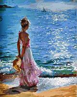 """Картина по номерам на холсте """"Утренняя прогулка"""" от Белоснежка933-AB"""