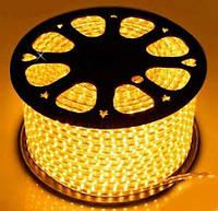 Светодиодная лента AVATON 2835-120 220В IP68 желтый, герметичная, 1м