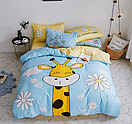 """Комплект постельного белья Fashion """"Жираф""""  евро , фото 2"""