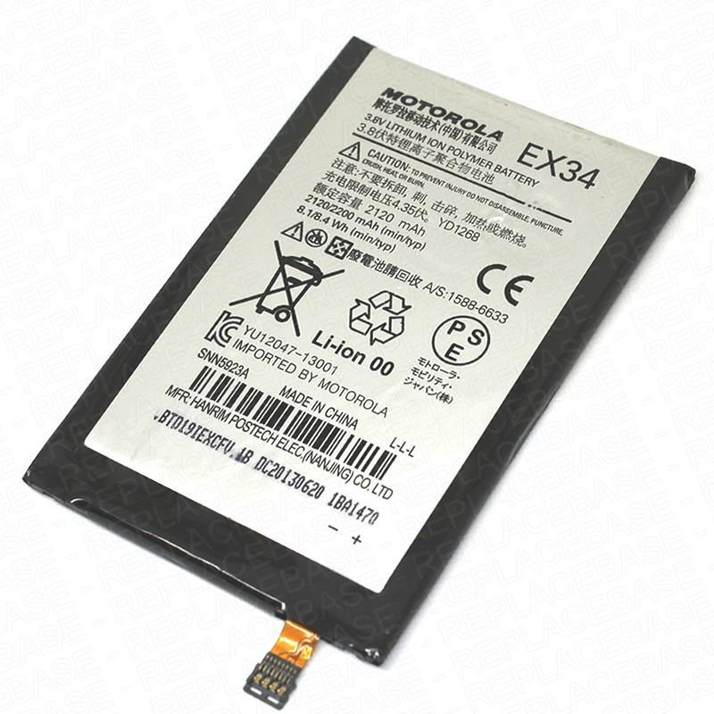 Аккумулятор 100% оригинал Motorola EX34 XT1053, XT1055, XT1050, XT1056, XT1058, XT1060