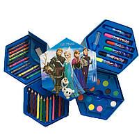 """Набор для рисования 46 предметов в коробочке """"Принцесса Холодное Сердце"""""""