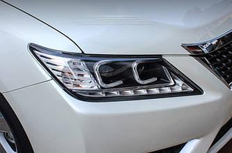 Передні фари Led тюнінг оптика Toyota Camry V50 ксенон стиль лексус