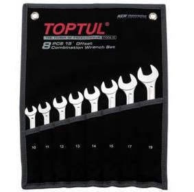 """Набор ключей комбинированных 14 шт. 8-24  """"Super-Torque"""" Toptul GPAW1402"""