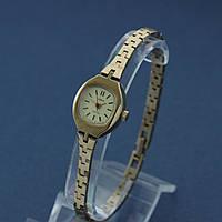 Чайка женские кварцевые часы на браслете СССР , фото 1