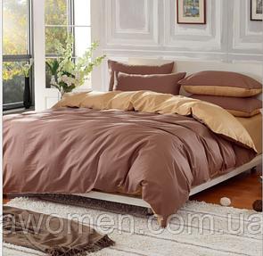 Комплект постельного белья Art Elegant (кофейное золото) евро