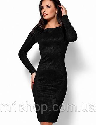 Женское блестящее платье-футляр (Люси kr), фото 2