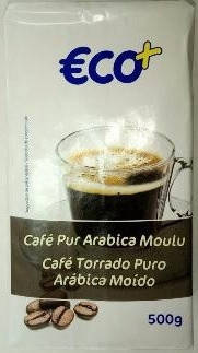 Кофе молотый Cafe pur Arabica Moulu 500g Франция, фото 2