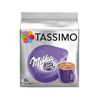 Горячий шоколад в капсулах Tassimo Milka 8 шт
