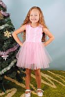 Детское нарядное платье без рукавов, фото 1
