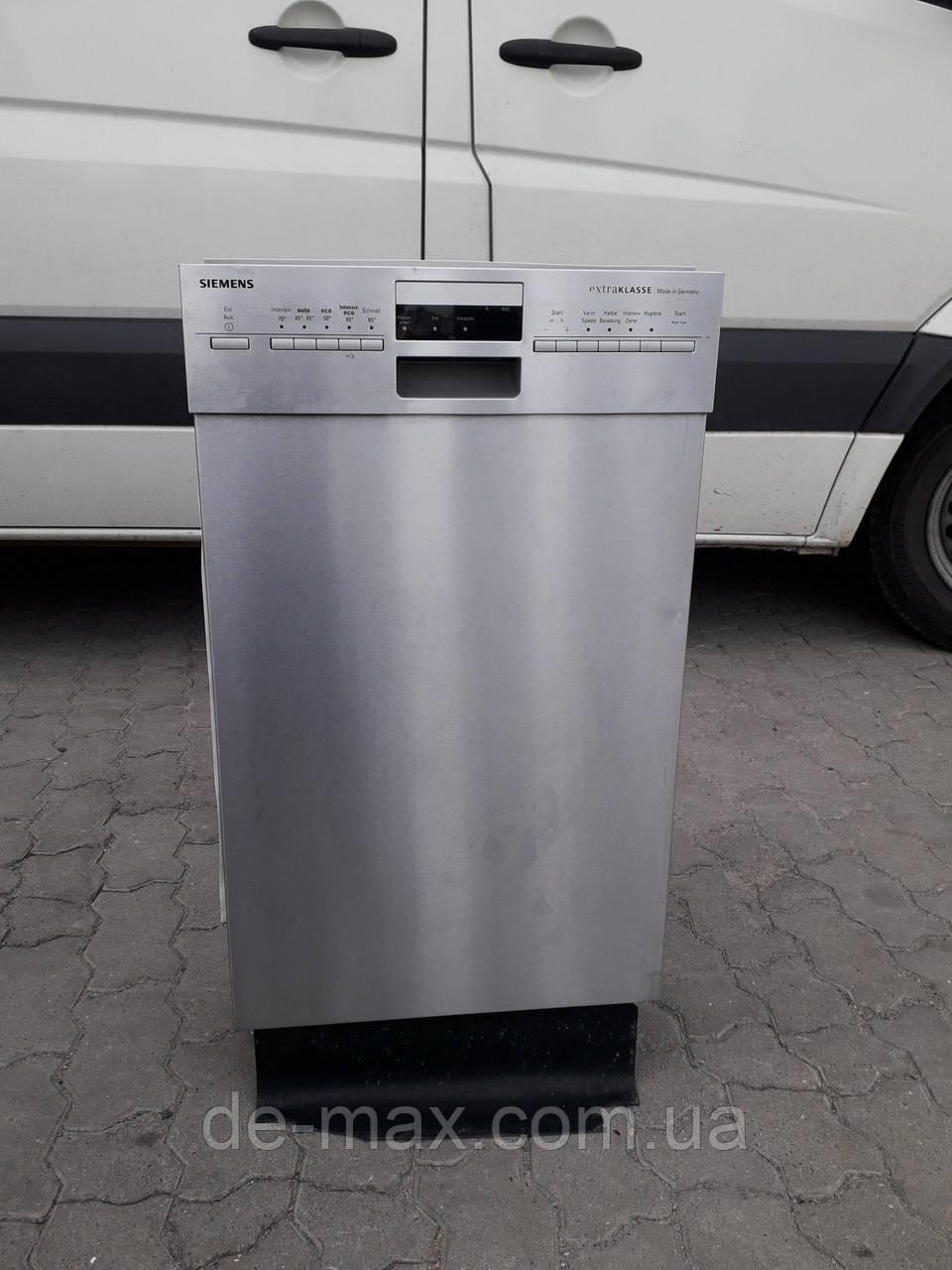 Посудомоечная машина 45см узкая А+++ Siemens extra class SR48M550DE