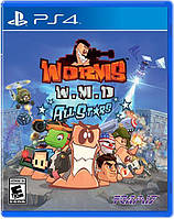 Игра PS4 Worms W.M.D All Stars для PlayStation 4