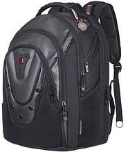 Рюкзак для ноутбука Wenger Ibex 125th 17 Black Carbon 605498, черный
