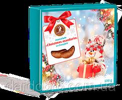 "Набор новогодний ""Мармелад ""Christmas mandarin"" в шоколаде, 100г"