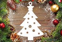 """Новогодний декор, резная игрушка """"Ёлка"""" из пенопласта, 20*4 см, 30*4 см, 40*4 см"""
