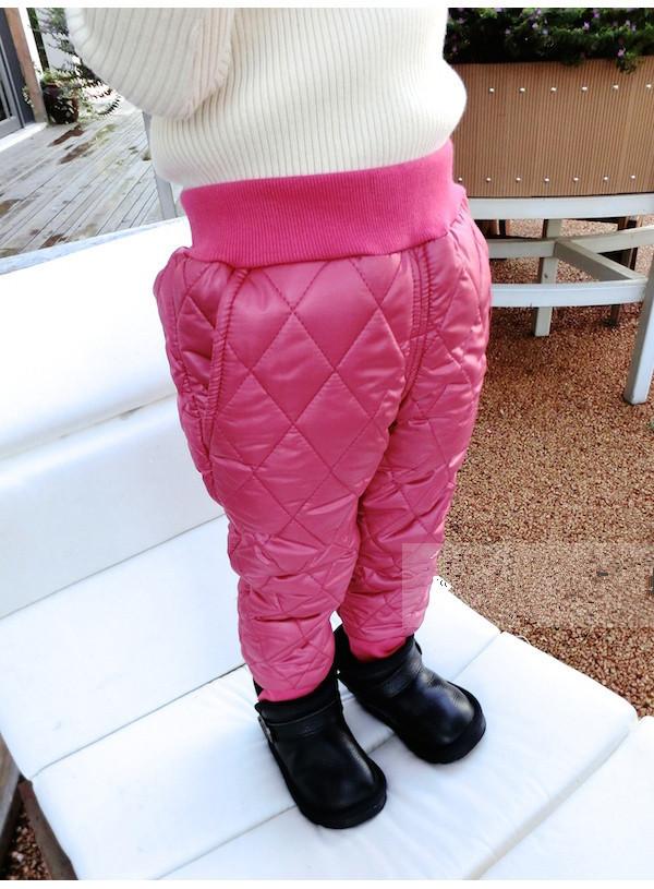 Штаны теплые детские на девочку зима на меху