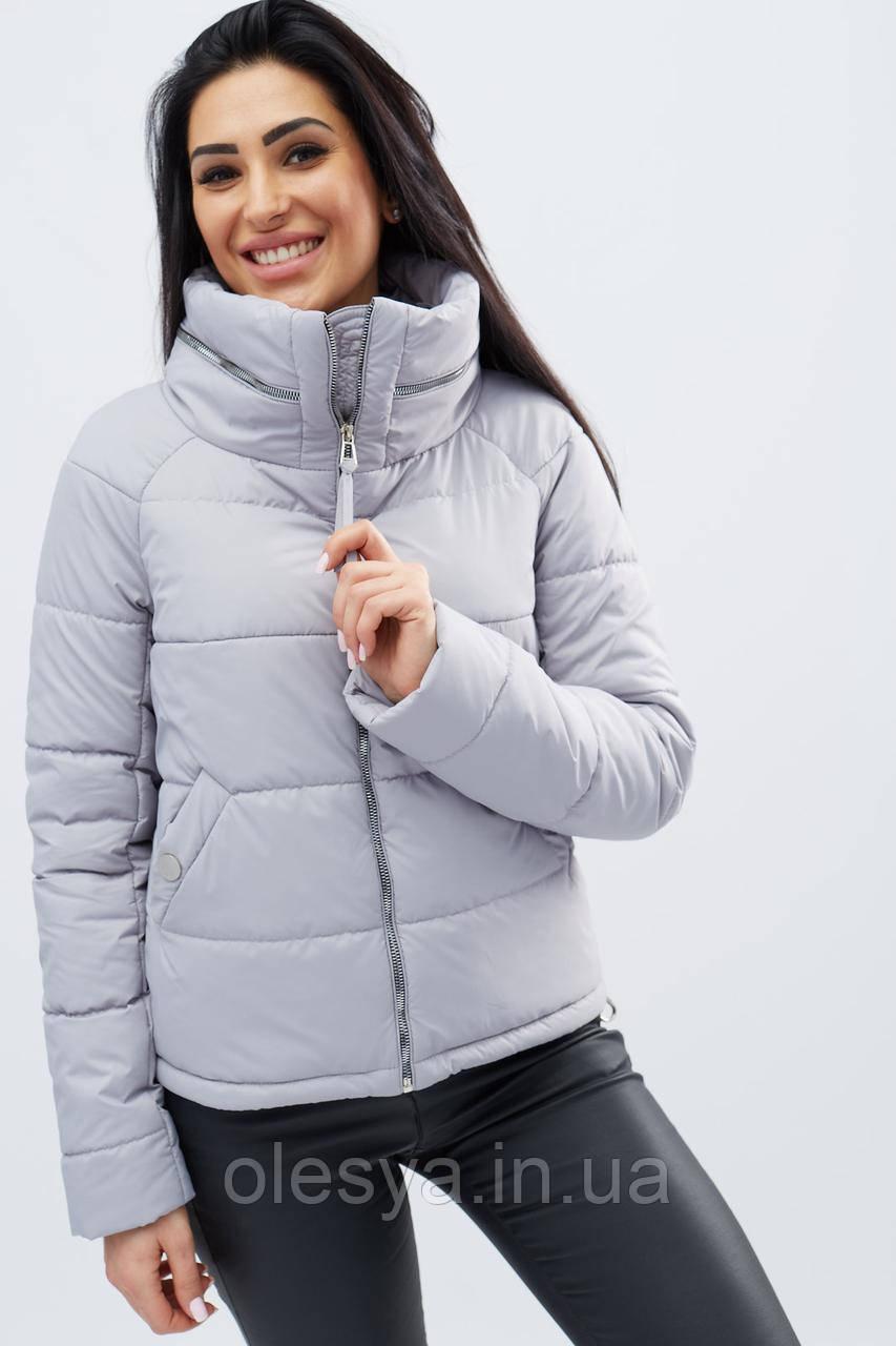 Куртка LS-8776-34, (Св. серый)