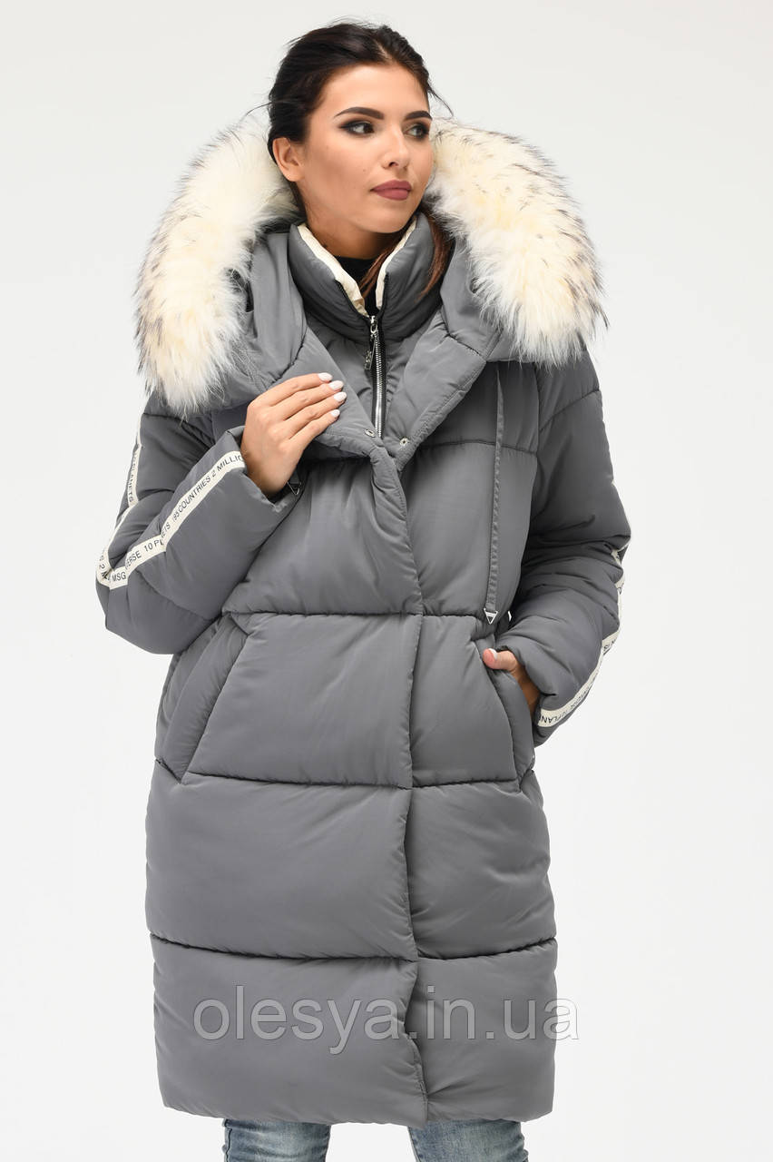 Куртка-парка LS-8805-4, (Серый)
