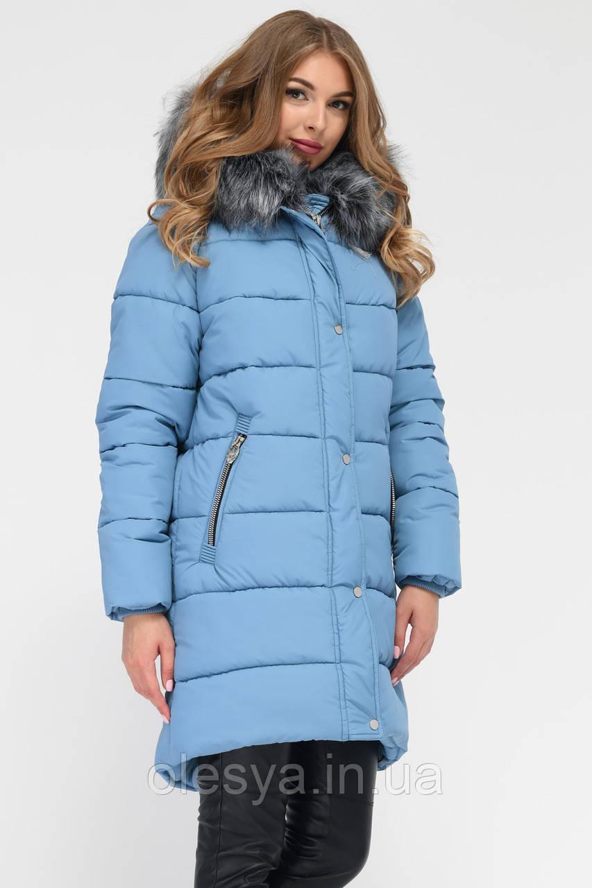 Куртка-парка LS-8806-35, (Деним)