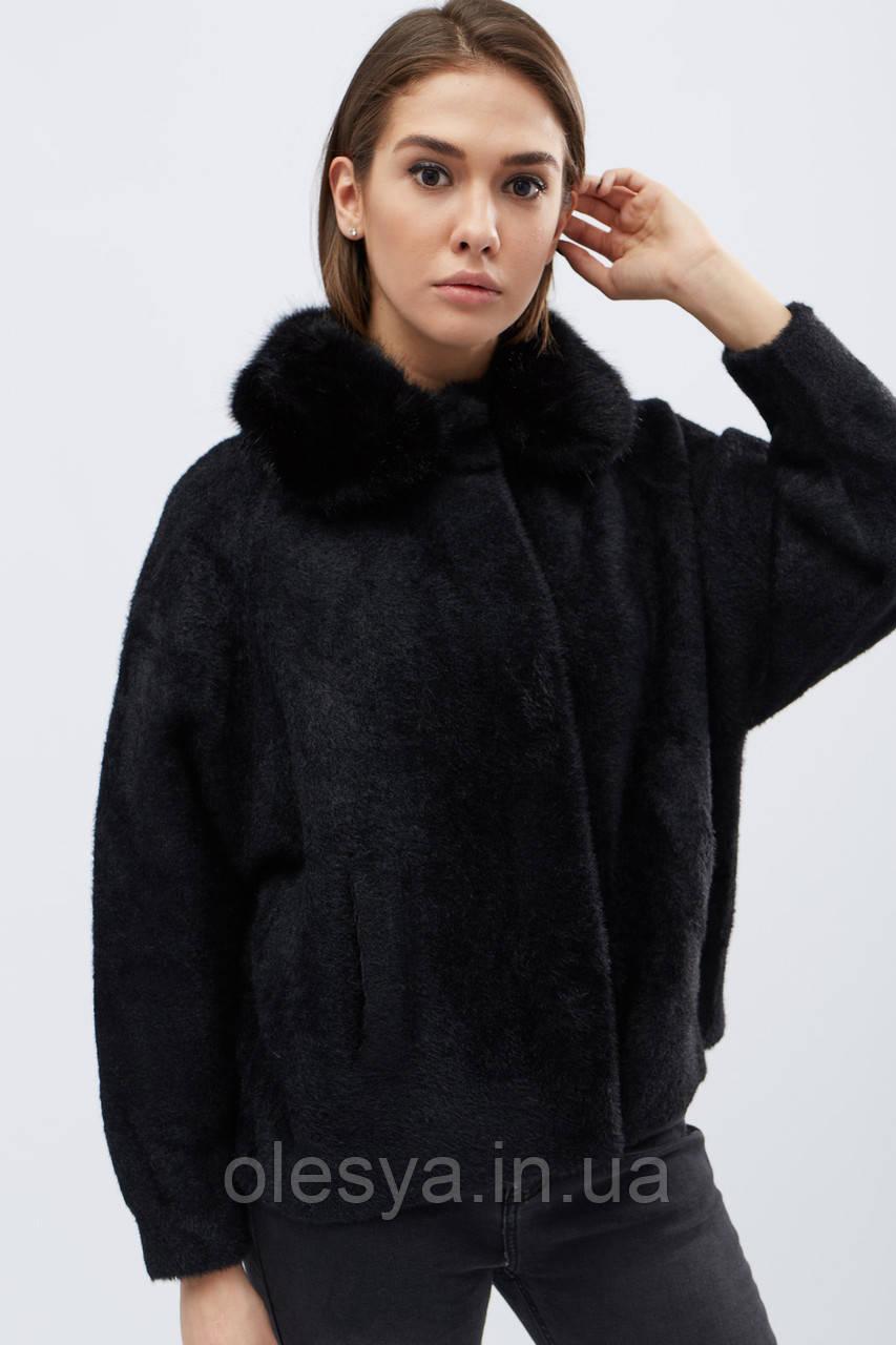 Пальто -31011-8, (Черный)
