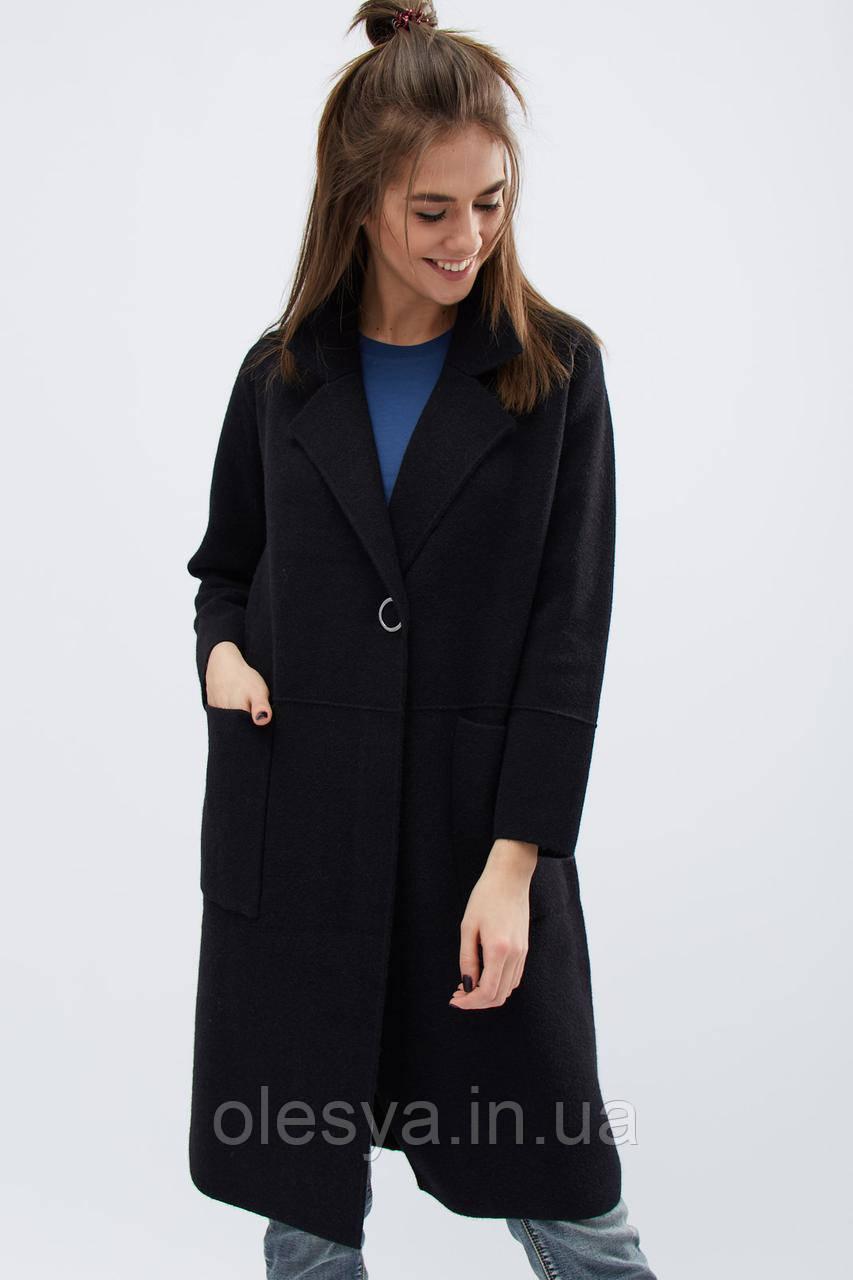 Пальто -31017-8, (Черный)