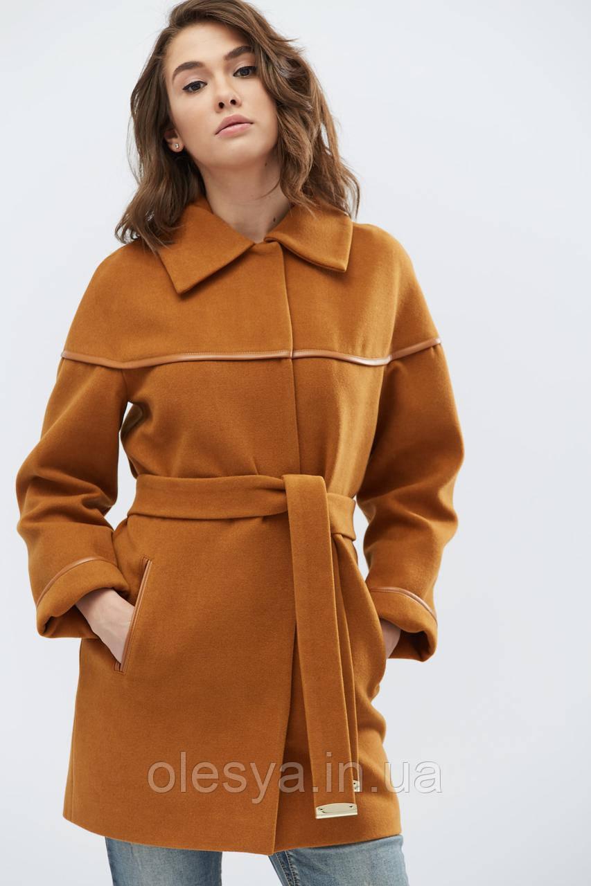 Пальто PL-8628-10, (Camel)