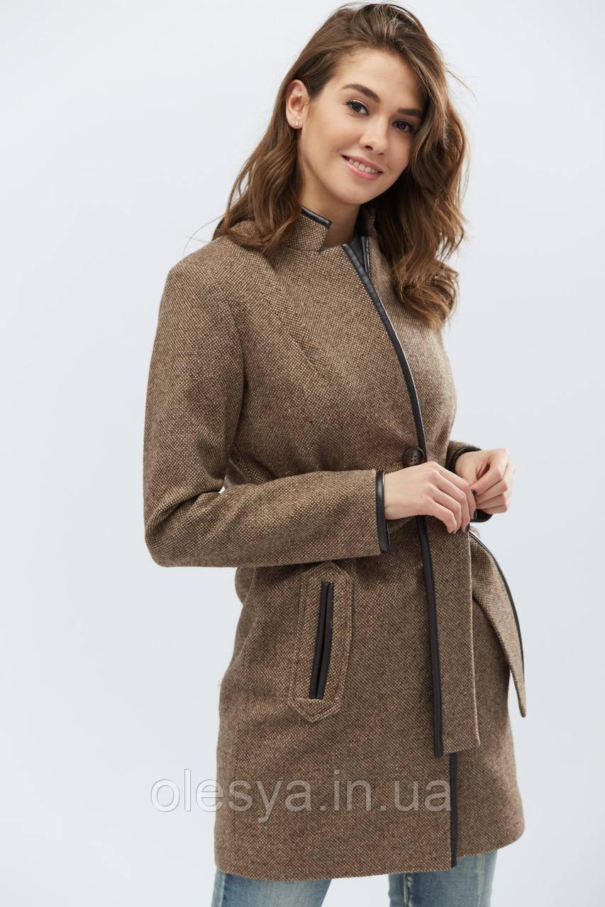 Пальто PL-8658-26, (Светло-коричневый)