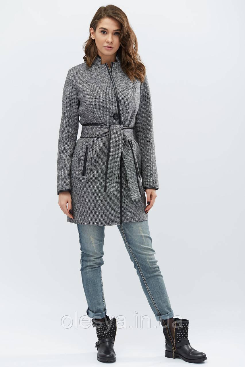 Пальто PL-8658-8, (Черный)