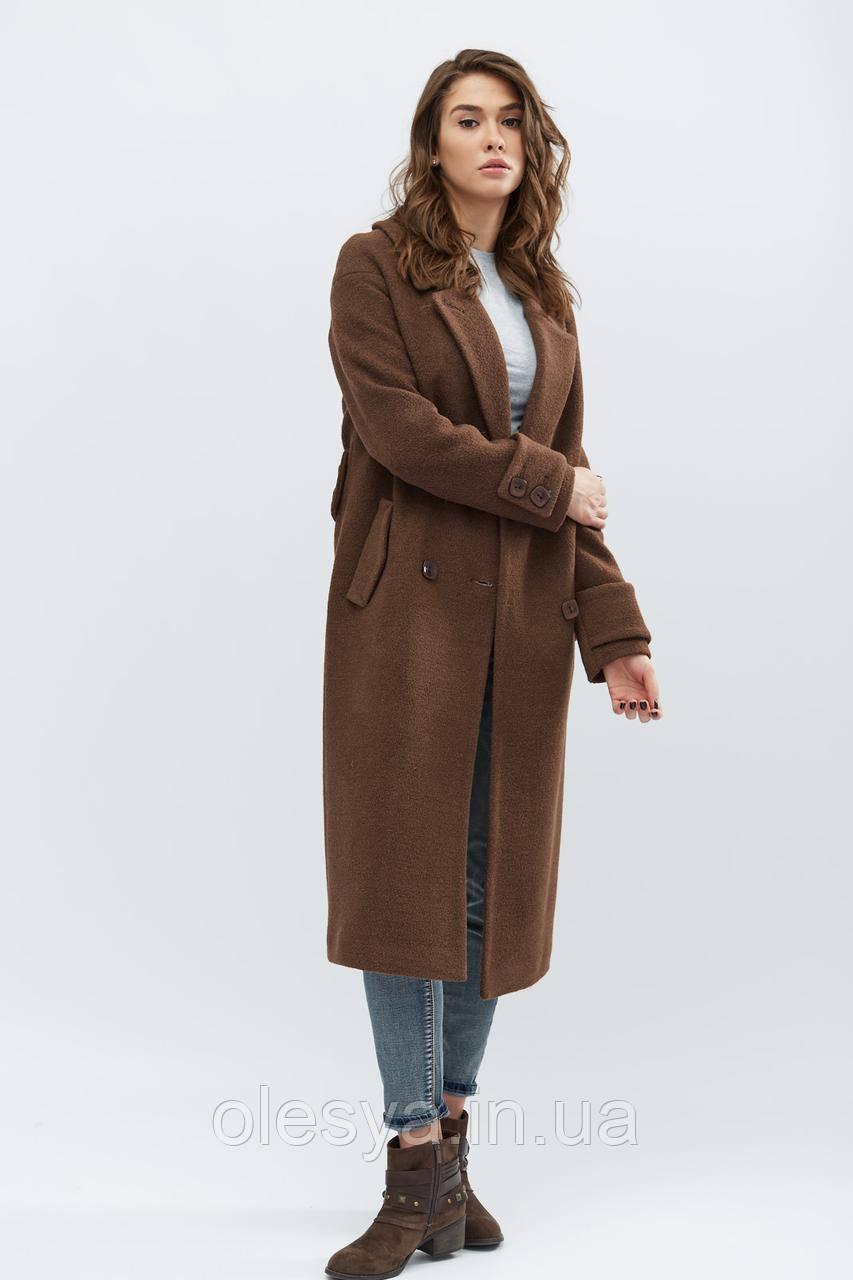 Пальто PL-8665-26, (Шоколад)