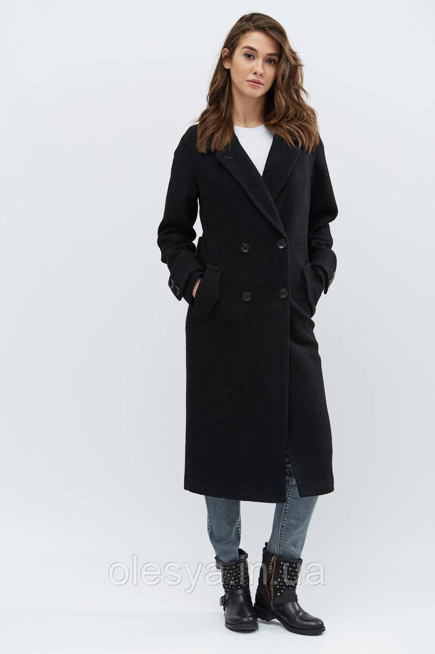 Пальто PL-8665-8, (Черный)