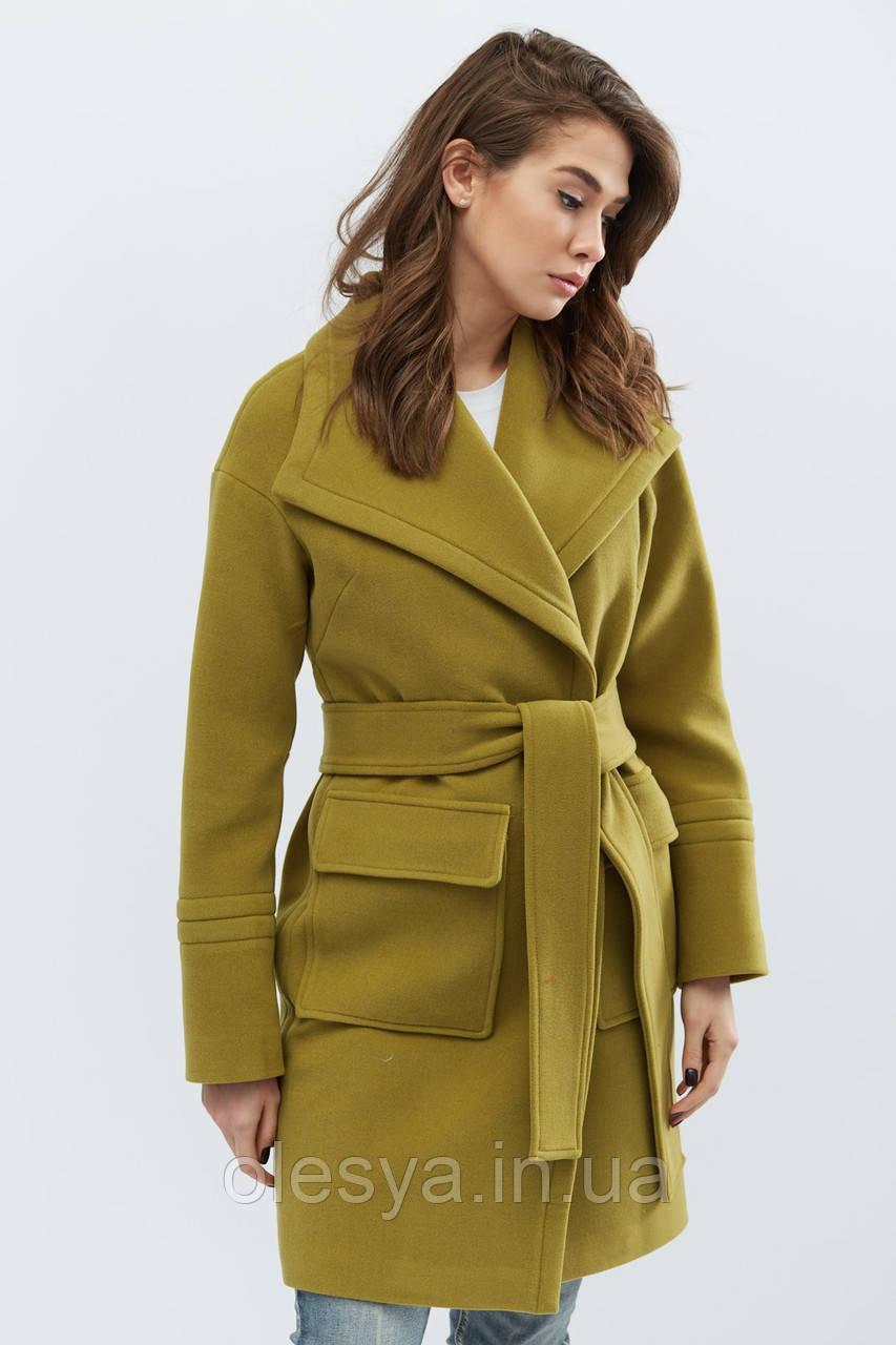 Пальто PL-8668-1, (Хаки)