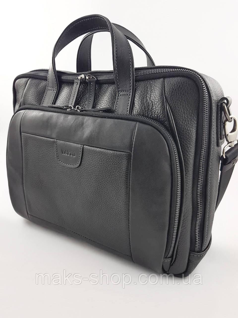 886395a56d2b Вместительная кожаная мужская сумка/деловой портфель VATTO Mk85 F8Kaz1 -  Maks Shop- надежный и