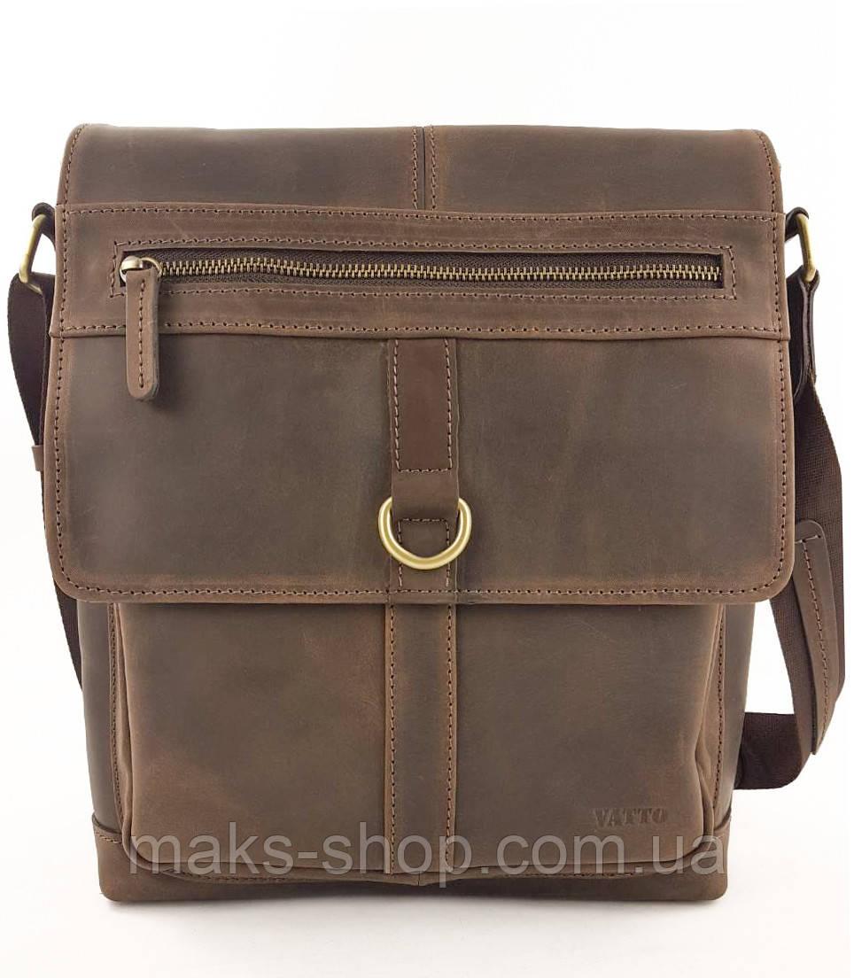 37839dca2b40 Стильная, современная мужская сумка с удобной ручкой и клапаном на  магнитах, вертикальная VATTO Mk89