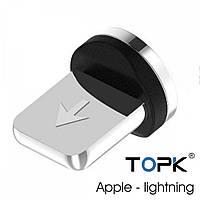 Коннектор магнитный TOPK (Conect) Apple-lightning